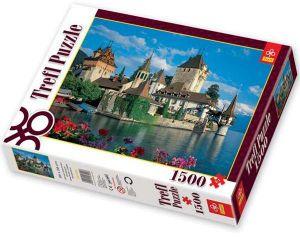 TREFL Puzzle Hrad Oberhofen Švýcarsko 1500 dílků