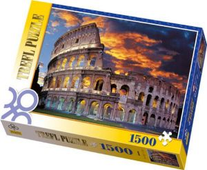 TREFL Puzzle Koloseum v Římě 1500 dílků