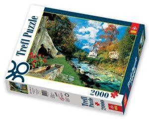 Trefl Puzzle Bavorské Alpy Německo 2000 dílků