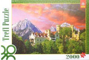TREFL Puzzle Zámek Hohenschwangau Bavorsko 2000 dílků