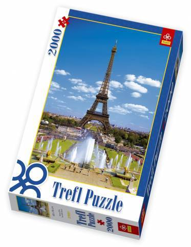 TREFL Puzzle Eiffelova věž Paříž Francie 2000 dílků