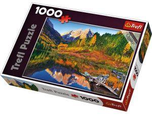 TREFL Puzzle Jezero Maroon Lake Aspen Colorado 1000 dílků