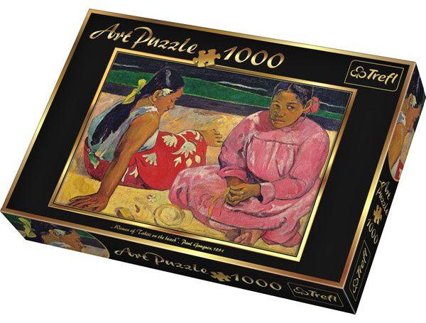 TREFL Puzzle Paul Gauguin Tahiťanky na pláži 1000 dílků