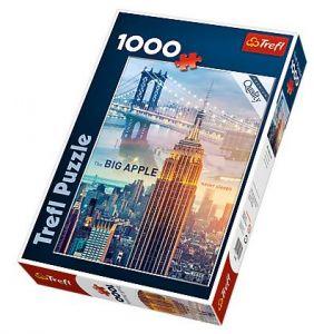 TREFL Puzzle New York za úsvitu 1000 dílků