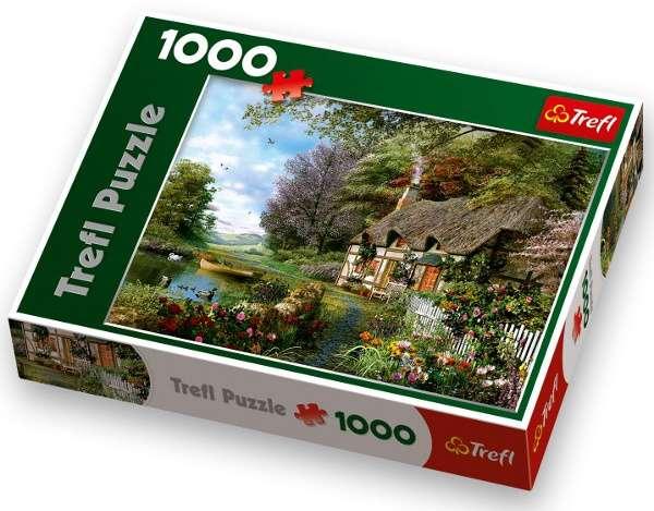 TREFL Puzzle Dominic Davison Půvabné zákoutí 1000 dílků