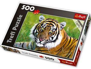 TREFL PUZZLE Tygr 37192 500 dílků