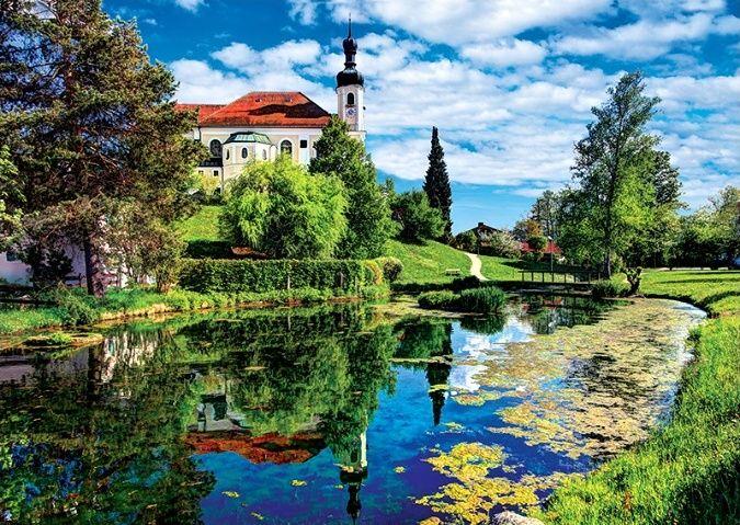 TREFL Puzzle Chiemské jezero Bavorsko 500 dílků