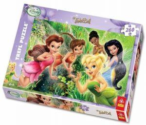 TREFL Puzzle Víla Zvonilka Víly-Tinker Bell-Fairies 13114 260 dílků