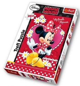 TREFL Puzzle 13139 Minnie 260 dílků