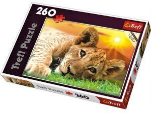 TREFL Puzzle 13163 Lvíče 260 dílků