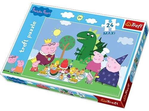 Trefl Puzzle 14157 Peppa Pig MAXI 24 dílků