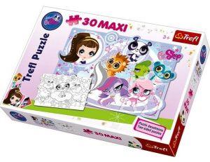 TREFL Puzzle Littlest Pet Shop LPS Maxi 14409 30 dílků