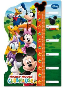 Růstový metr Clementoni 30 dílků - Metr Mickey Mouse