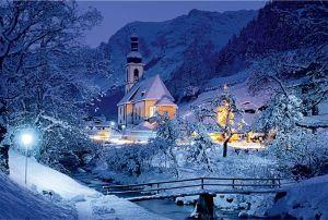 TREFL Puzzle Ramsau Bavorské Alpy Německo