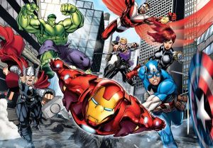 CLEMENTONI Dětské Maxi puzzle 24 dílků 24036 - Avengers