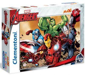 CLEMENTONI Dětské Maxi puzzle  24 dílků 24037 - Avengers