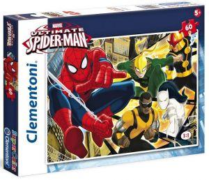 CLEMENTONI Dětské puzzle 60 dílků Spiderman: Rozený hrdina