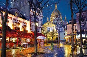 CLEMENTONI Puzzle 1500 dílků Montmartre, Paříž, Francie