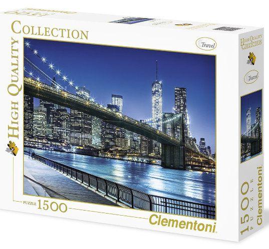 Clementoni Puzzle 31804 - New York - 1500 dílků