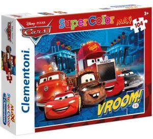 Clementoni puzzle Maxi 104 dílků  23669   CARS
