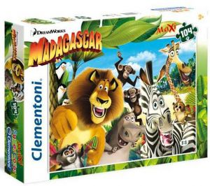 Clementoni puzzle Maxi 104 dílků  23694  Madagaskar