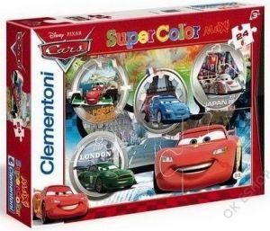 Clementoni puzzle Maxi 24 dílků Auta Cars