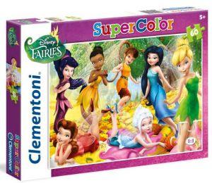 Clementoni puzzle Supercolor 60 dílků Víly