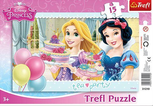 Deskové puzzle Trefl 15 dílků - 31210 - Princezny