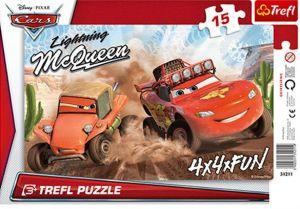 Deskové puzzle Trefl 15 dílků - 31211 -  Cars