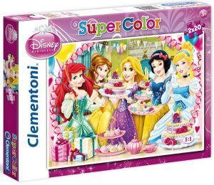 Dětské puzzle 2x20 dílků - princezny 2v1 Clementoni