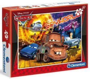 Dětské puzzle Clementoni  60 dílků  - Auta ( CARS ) Spyworld