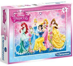 Dětské puzzle Clementoni  60 dílků  - Princezny  08409