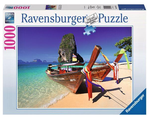 puzzle Ravensburger 1000 dílků - Karibská pláž 194773