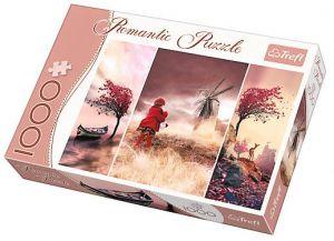 TREFL Puzzle 1000 dílků Romantic - 10408 - Pohádková krajina