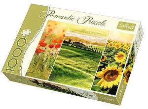 TREFL Puzzle 1000 dílků Romantic - 10410 - Slunečné Toskánsko