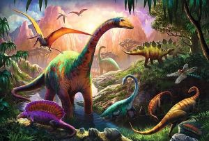 Trefl Puzzle 16277 Dinosauři - 100 dílků