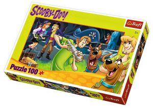 Trefl Puzzle 16283 Scooby Doo - hledání pokladu  - 100 dílků