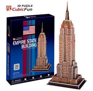 3D puzzle CubicFun Empire State Building 39 dílků