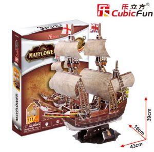 3D puzzle CubicFun Loď Mayflower 117 dílků