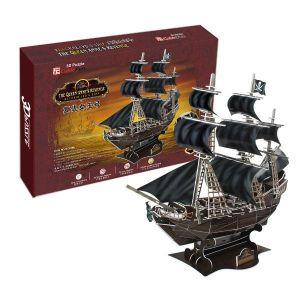 3D puzzle CubicFun  Pirátská loď Queen Anne´s Revenge  24005
