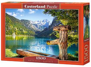 CASTORLAND 1500 dílků Gosausee Rakousko