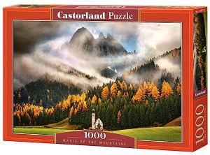 Castorland  puzzle  1000 dílků Kouzlo hor 103270