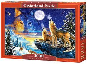 Castorland  Puzzle 1000 dílků Vyjící vlci  103317