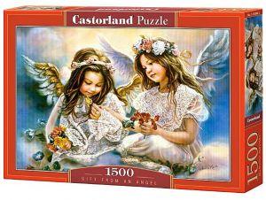 CASTORLAND Puzzle 1500 dílků Dar od anděla 151394