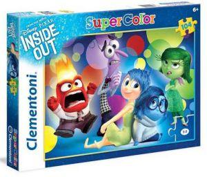 Clementoni Dětské puzzle 104 dílků  27949 Inside Out