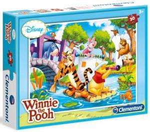 Clementoni puzzle 30 dílků - Medvídek Pů  08508