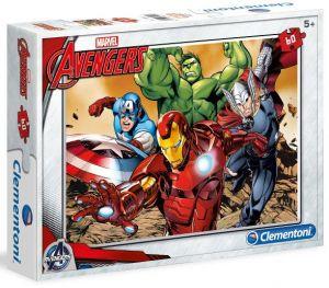 Dětské puzzle Clementoni  60 dílků  - Avengers   08415