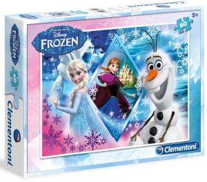 Dětské puzzle Clementoni  60 dílků  - Frozen   08412