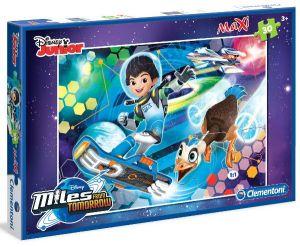 Podlahové puzzle Clementoni 30  dílků MAXI  - Miles from tomorrow 07421