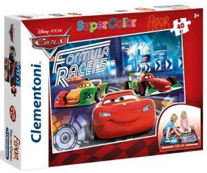 Podlahové puzzle Clementoni 40  dílků MEGA  - Cars   25442